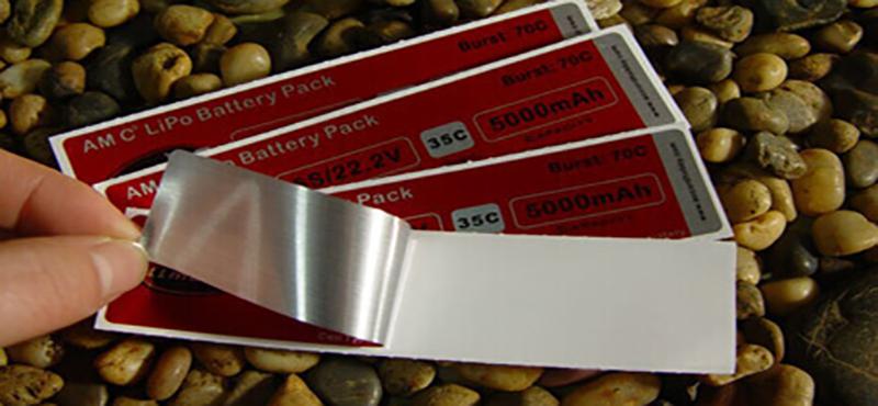 Etiqueta Adesiva Metalizada - 1