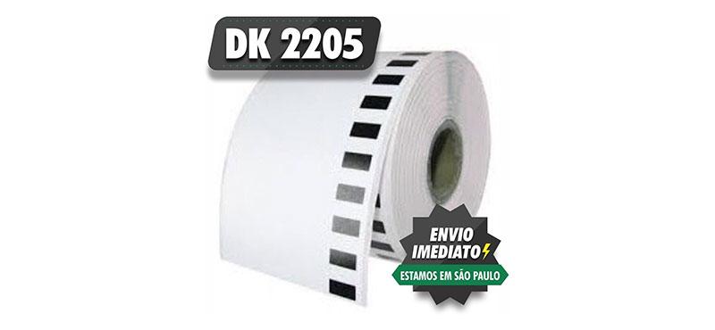 Etiqueta Brother DK 2205 - 1