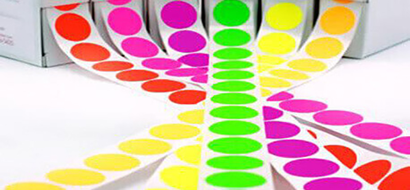 Etiqueta Colorida para Impressora - 1