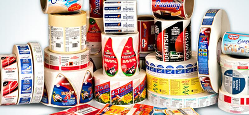 Etiquetas Adesivas em Rolo - 2
