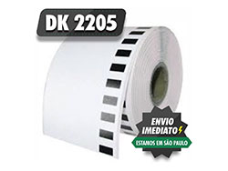 Etiqueta Brother DK 2205