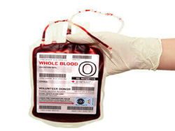 Etiqueta para Bolsa de Sangue