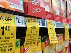 Etiqueta Tag Gôndola Supermercado