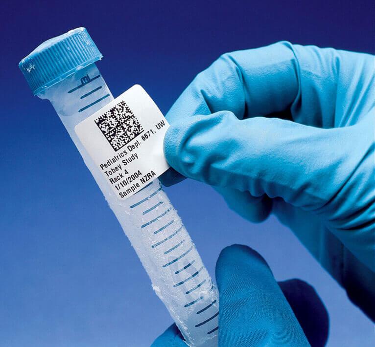 Etiqueta Laboratorial